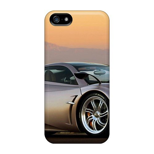 pagani-huayra-at-sunset-fashion-tpu-5-5s-case-cover-for-iphone