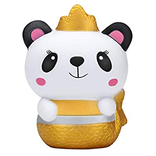 erthome Squishies Galaxy Panda Fruit Scented Slow Rising Squeeze Stress Relief Toys Entspannen Sie Sich Spielzeug, Spielzeug muss (A)