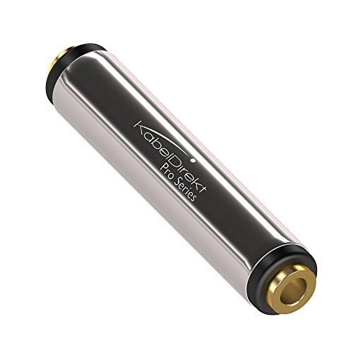 KabelDirekt - Stereo Audio Klinkenkupplung - (für 3.5 mm Klinkenkabel) - PRO Series -