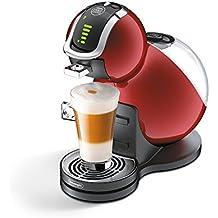 De'Longhi Dolce Gusto Melody 3 - Máquina de café (Flow Stop, Expresso, 15 Bar), color rojo