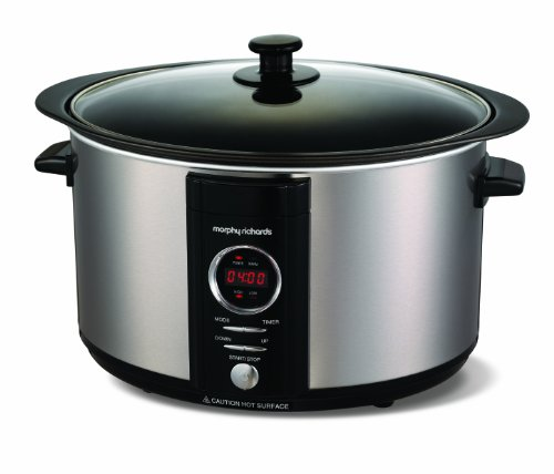 morphy-richards-accents-461003-digital-sear-and-stew-slow-cooker-65-l-brushed