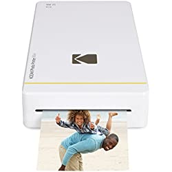 Kodak PM-210 Imprimante Photo pour iPhone et Android, Blanc