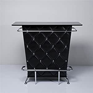 xtradefactory meuble bar noir cuisine maison. Black Bedroom Furniture Sets. Home Design Ideas