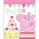 Peppa Pig 'Cupcake' Fleece Blanket 120 x 150cm