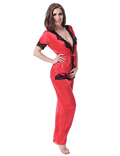Ohyeah - Ensemble de pyjama - Homme Rouge - Rouge