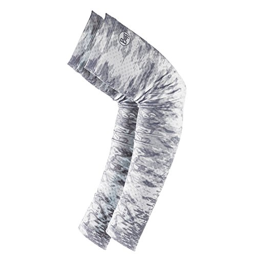 Buff UV-Arm Ärmel Angeln, unisex, Pelagic Camo White (Camo Pelagic)