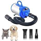 XKPET 2400W Soffiatore per Cani Pet Dryer Grooming Cane Animali Domestici Capelli Pet Dog Cat...