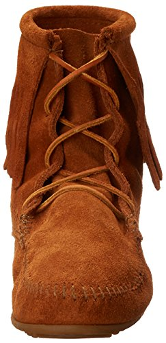 Minnetonka - Tramper Ankle Hi Boot, Stivale da donna Marrone (Braun/Brown)