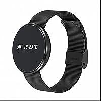 Inteligente Pulsera Deportes,Pulsera Actividad Bluetooth con Contador de Pasos,Monitor de Sueño Pulsera,Alertas de mensajes,Monitor de Calorías y Sueño,Monitor Cardio para iphone Android Relojes Deportivos