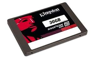 Kingston SS200S3/30G Ssdnow S200 Disques Dur 30 Go 2.5 Serial ATA
