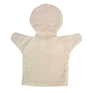 Beleduc-40028-Marioneta de Manos-Set de 24en algodón
