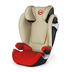 Cybex Gold Solution M, Autositz Gruppe 2/3 (15-36 kg), Kollektion 2017, autumn gold, ohne Isofix