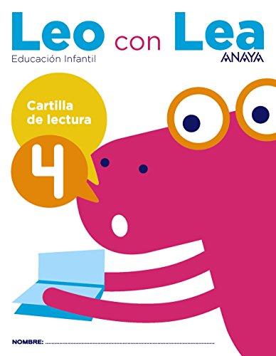 Leo con Lea Cartilla de lectura 4