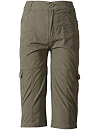 Sera Boys Olive Cotton Cargo Jamaican