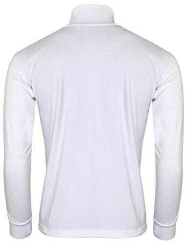 1a30aa3e BCPOLO Men's Turtleneck Shirt Long sleeve Cotton Mock Neck Shirt.-H ...