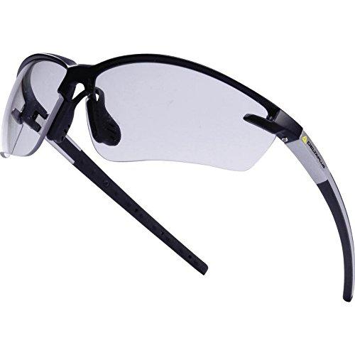 Delta Plus Fuji Schutzbrille mit Polycarbonat-Gläsern (Einheitsgröße) (Transparent)