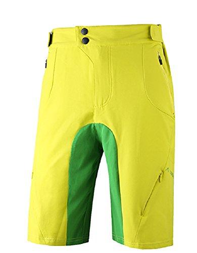 SAENSHING Herren MTB Shorts Berg Radfahren Au?en Sport Quick Dry (Au Shorts)