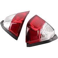 gzyf LED cola luz intermitente izquierdo y derecho lente Blinker para funda Honda Goldwing GL1800200620072008200920102011