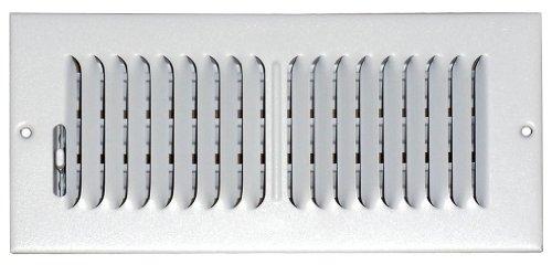 speedi-grille sg-48CW24-Zoll von 8Zoll weiß Deckenleuchte/Seitenwand-Register mit 2Wege-Ablenkung