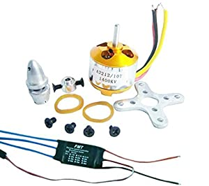 Z-Standby A2212 1400kv Brushless Outrunner Motor 10t+ 30a Speed Controller ESC ,Rc Aircraft Kk Quadcopter UFO