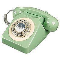 Wild and Wolf Retro 746 Telephone   Swedish Green