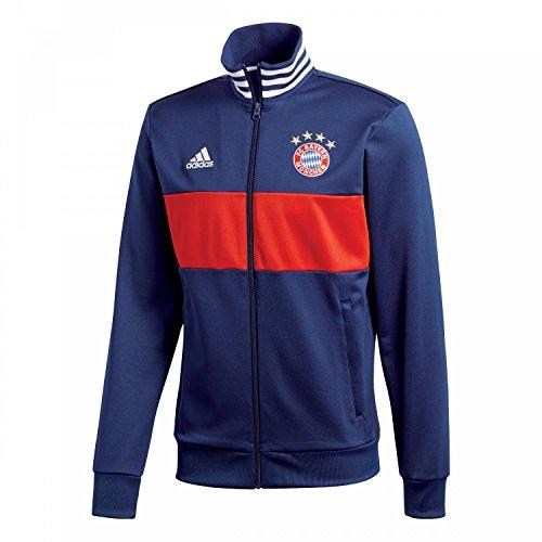 Adidas FC Bayern de Múnich Chaqueta, Hombre, Azul (Maruni/rojfcb), XS