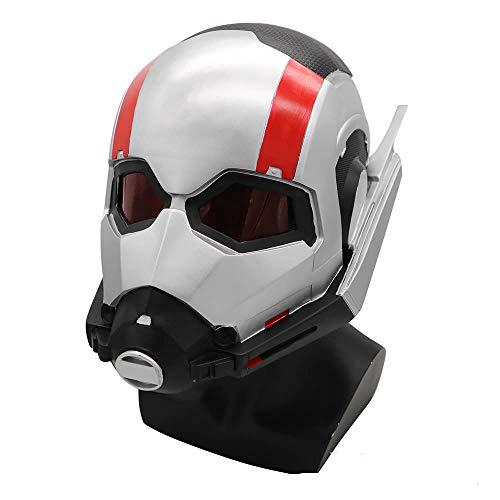 hcoser Halloween-Ameisen-Helm, PVC-Kopfmaske, kreativ, lustige Vizard-Maske