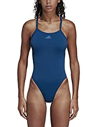 adidas Perf Swim INF+ Swimsuit, Mujer, Legend Marine/Core Blue, 48