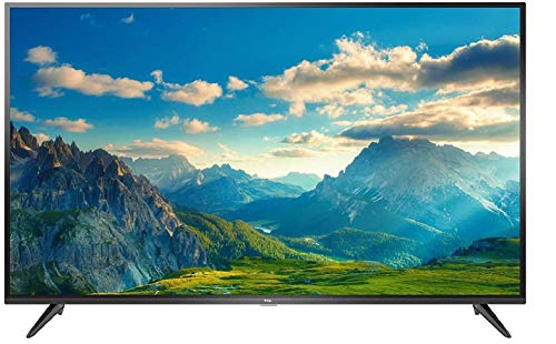 TCL 125.64 cm (50 inches) 4k UHD Smart LED TV 50P65US (Black)