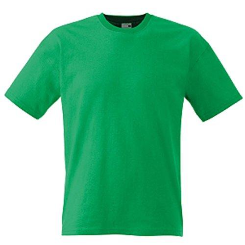 Fruit of the Loom Herren T-Shirt Grün - Kelly Green