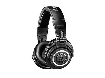 Audio-Technica ATH-M50XBT Wireless Over-Ear Portable Headphones - Black