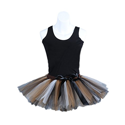 Honeystore Damen's Kurz Retro Petticoat Rock Ballett Blase 50er Tutu Unterrock Tütü Abschlussball Tanzkleid Party Minirock Tüllrock One Size (Jungen Uncle Kind Sam Kostüme)