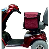 MOBILITY SCOOTER OR WHEELCHAIR SIDE SACK - BLACK by Kozee Komforts