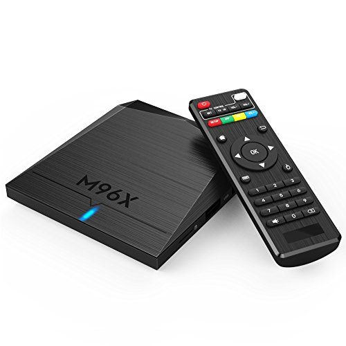 QcoQce M96X Smart TV Box Amlogic S905X OS 2G/8G 5-Core GPU Android 6.0 4K Media Player