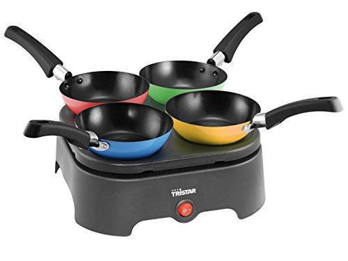 Tristar - Kit Wok/Plaque de cuisson - BP -2988 - 4 Personnes - 400 Watt
