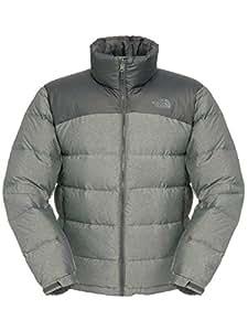 The North Face Men's Nuptse 2 Jacket - Asphalt Grey Heather/Asphalt Grey, XX-Large