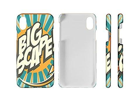 Handy Schale passend für iPhone 8 Fun GroÃ?e Flucht