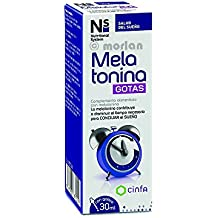 NS Nutritional System Melatonina Gotas, 30ml