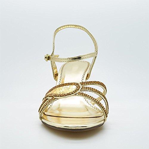 Donna Calzature Cavigliera Londra Londra Cavigliera Dorato Donna Dorato Calzature 6pq4wBFx