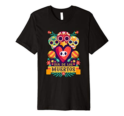 (Dia De Los Muertos Day Of The Dead Halloween Party T Shirt)