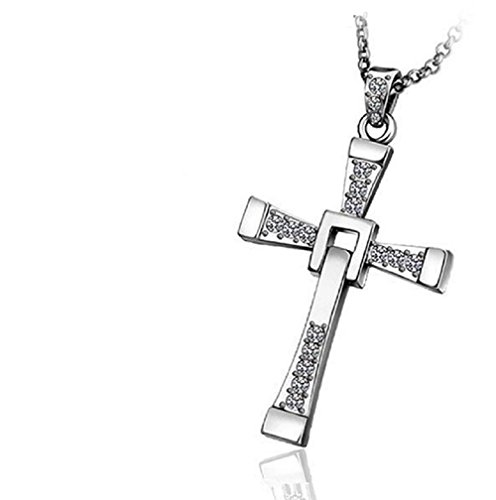 Collier pendentif croix crucifix Fast and Furious Vin Diesel Dominic Toretto