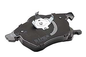Simer 613 Kit de plaquettes de frein, frein à disque
