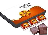 ChocoCraft Rakhi Gift for Sister 9 Chocolate Box