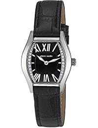 Pierre Cardin Damen-Armbanduhr Analog Quarz Leder Swiss Made