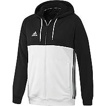 Adidas para hombre con capucha T16 Varios colores blanco/negro Talla:M