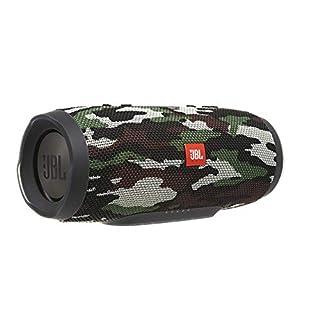 JBL Charge 3 Tragbarer Bluetooth-Lautsprecher (Wasserdicht, mit 6000 mAh Power Bank und Freisprechfunktion) Camo