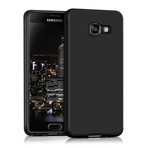 kwmobile Samsung Galaxy A3 (2016) Hülle - Handyhülle für Samsung Galaxy A3 (2016) - Handy Case in Schwarz matt