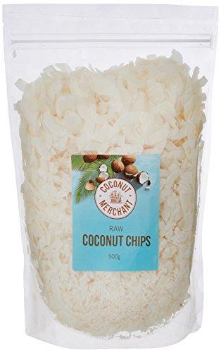 Coconut Merchant - Rohe Kokos-Chips 500g