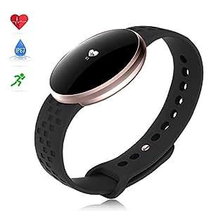 fitnessuhr armbanduhr damen herren smartwatch mit. Black Bedroom Furniture Sets. Home Design Ideas