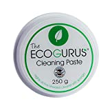 The EcoGurus Natural Cleaning Paste!! - Environmentally & Eco Friendly All Multi-Purpose & All Surface!! - Clean Your Kitchen, Bathroom, Limescale, Trainers, Surfaces, Garden, Furniture etc.